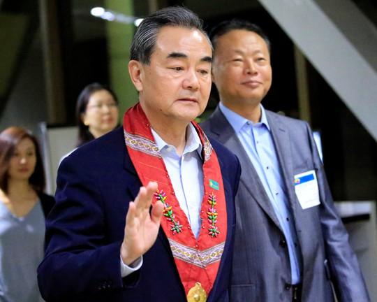 Ngoại trưởng Trung-Triều gặp riêng sau trừng phạt của LHQ - Ảnh 1.