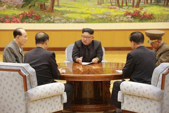 Trung Quốc lo sập ngọn núi nơi Triều Tiên thử bom H - Ảnh 1.