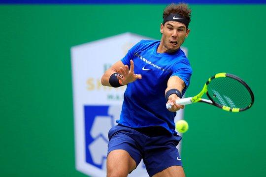 Clip: Federer, Nadal tiến sát chung kết Thượng Hải Masters - Ảnh 6.