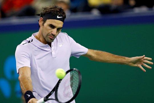 Clip: Federer, Nadal tiến sát chung kết Thượng Hải Masters - Ảnh 4.