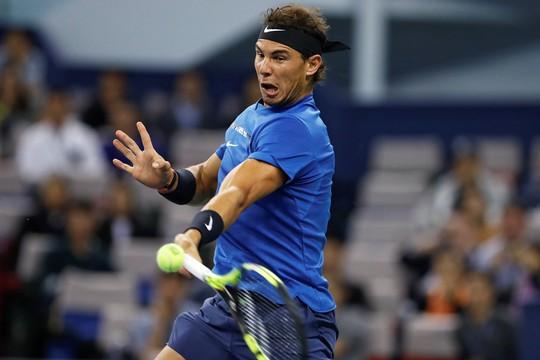 Federer khiến Nadal vỡ mộng vô địch Thượng Hải Masters - Ảnh 1.