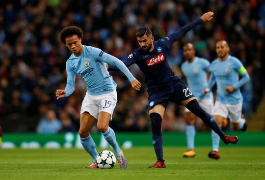 Nhẹ nhàng hạ Napoli, Man City đứng đầu bảng F - Ảnh 6.