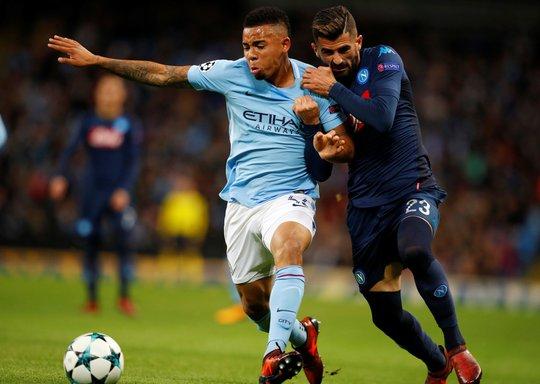 Nhẹ nhàng hạ Napoli, Man City đứng đầu bảng F - Ảnh 4.