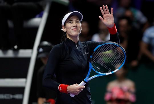 Muguruza xinh đẹp ghi điểm tại WTA Finals - Ảnh 1.