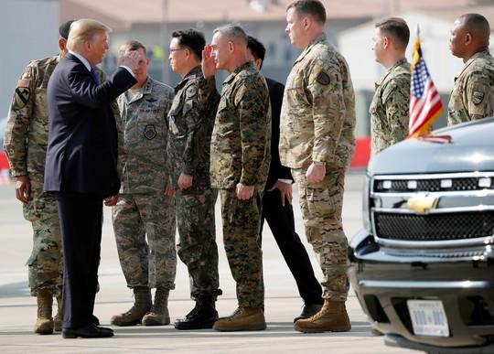 Hàn Quốc thắt chặt an ninh đón Tổng thống Donald Trump - Ảnh 2.