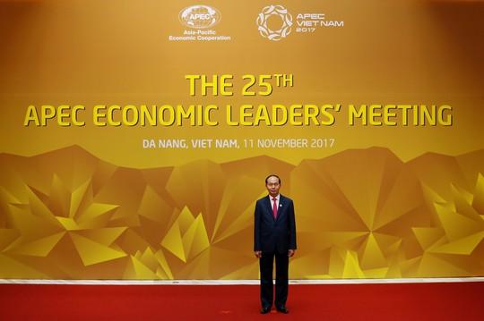 Chủ tịch nước Trần Đại Quang, Chủ tịch APEC Việt Nam 2017, chủ trì Hội nghị. Ảnh:Reuters