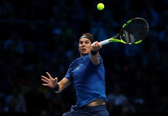 Vài giờ sau khi thua Goffin, Nadal rút khỏi ATP World Tour Finals - Ảnh 1.