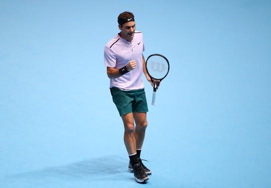 Vượt qua Zverev, Federer vào bán kết ATP Finals - Ảnh 3.