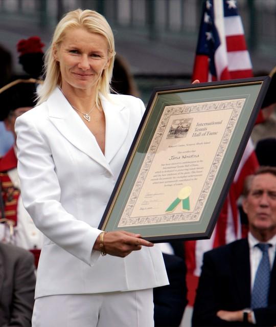 Cựu tay vợt Novotna qua đời vì căn bệnh ung thư - Ảnh 2.