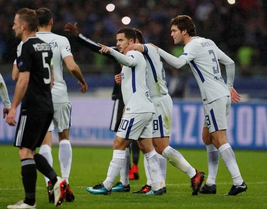 Conte vui mừng khi thoát khỏi áp lực trước Atletico Madrid - Ảnh 4.