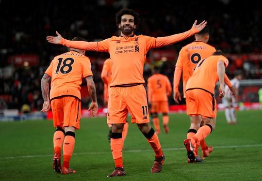 Mohamed Salah đứng đầu danh sách Vua phá lưới Ngoại hạng Anh - Ảnh 5.