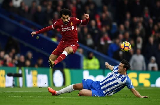 Mohamed Salah đứng đầu danh sách Vua phá lưới Ngoại hạng Anh - Ảnh 1.