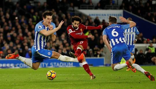 Mohamed Salah đứng đầu danh sách Vua phá lưới Ngoại hạng Anh - Ảnh 4.