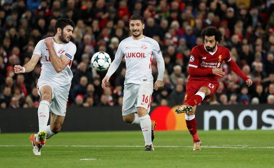 Liverpool giành vé đi tiếp sau chiến thắng tưng bừng - Ảnh 1.
