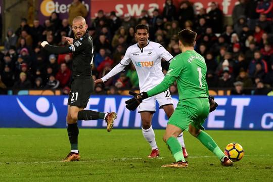 Man City lập kỷ lục 15 trận thắng tại Ngoại hạng Anh - Ảnh 1.