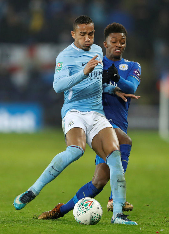 Hạ Leicester trên chấm 11 m, Man City tiến vào bán kết Cup Liên đoàn - Ảnh 3.