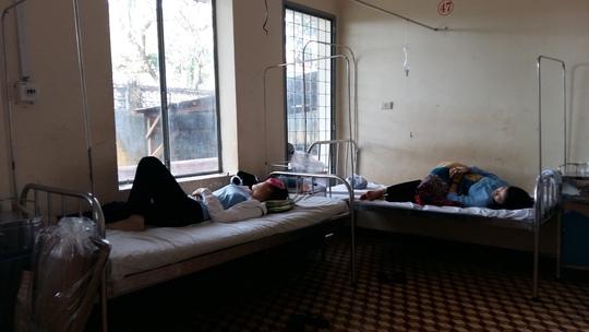 Các nữ tu sĩ đang điều trị tại Bệnh viện Đa khoa tỉnh Đắk Lắk