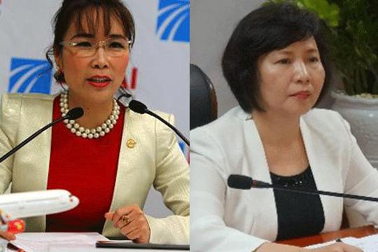 Bà Nguyễn Thị Phương Thảo và bà Hồ Thị Kim Thoa