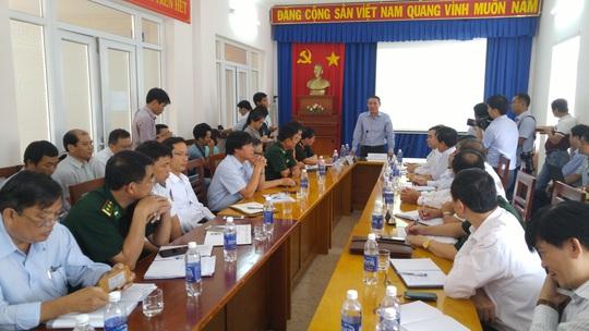Bộ trưởng Bộ GTVT làm việc tại Trung tâm tìm kiếm cứu nạn hàng hải khu vực 3