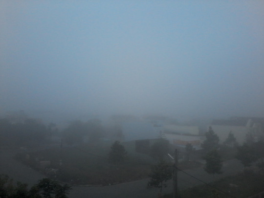 """Hiện tượng lạ: Sương mù như muốn… """"nuốt chửng"""" Cần Thơ - Ảnh 4."""