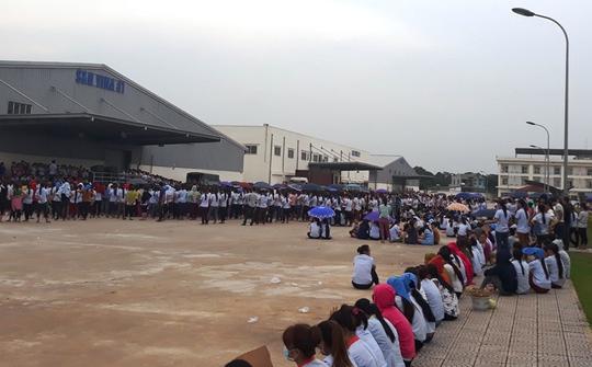 Hàng ngàn công nhân ngừng việc tập thể - Ảnh 1.