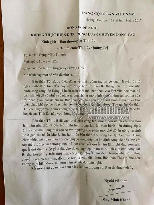 Phó bí thư 57 tuổi hứa nghỉ nếu không được việc - Ảnh 1.