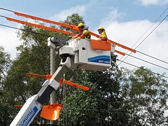 Điện lực miền Nam ra mắt nhiều đội thi công sửa chữa điện Hotline - Ảnh 4.