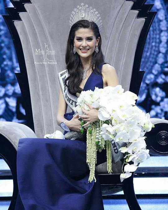 Cận cảnh nhan sắc Tân Hoa hậu Hoàn vũ Thái Lan - Ảnh 3.