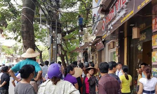 Phát hiện thi thể người đàn ông Hàn Quốc treo cổ trên phố - Ảnh 1.