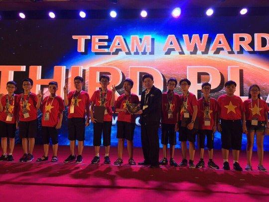 Đoàn Việt Nam thắng lớn tại kỳ thi toán quốc tế WMO - Ảnh 2.
