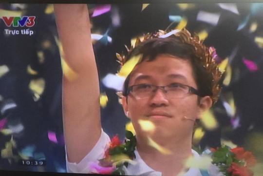 Phan Đăng Nhật Minh  trở thành nhà vô địch Olympia - Ảnh 1.