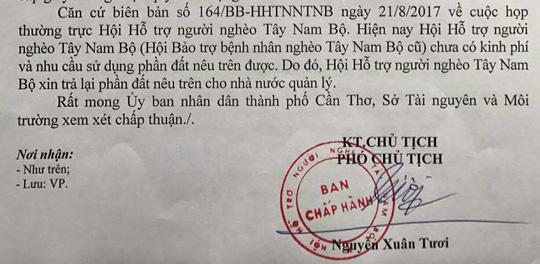 """Ông Nguyễn Phong Quang vẫn """"ôm"""" chức chủ tịch Hội Hỗ trợ người nghèo - Ảnh 2."""