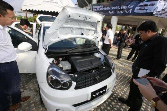 Ngắm mẫu ô tô điện đầu tiên của người Thái