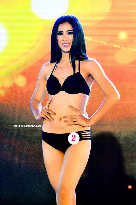 Cận cảnh nhan sắc tân Hoa hậu Hoàn vũ Myanmar - Ảnh 7.