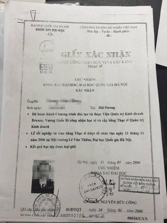 Vụ bằng thạc sĩ Bí thư Hải Dương: Chất vấn 3 đời Bộ trưởng GD-ĐT - Ảnh 3.