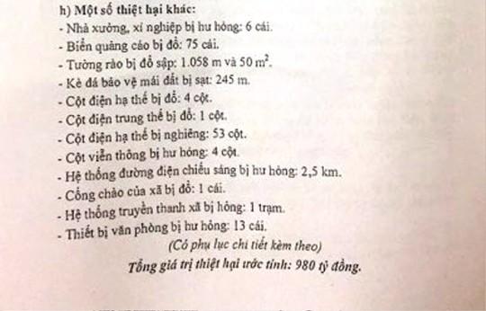 Báo cáo Thủ tướng, Thanh Hóa ước tính thiệt hại 980 tỉ đồng do bão - Ảnh 2.