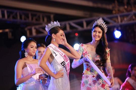 Cận cảnh nhan sắc tân Hoa hậu Hoàn vũ Myanmar - Ảnh 2.