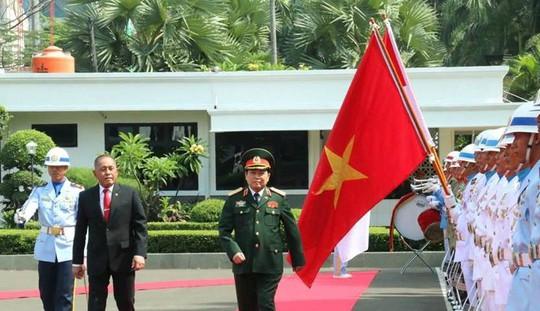 Việt Nam và Indonesia ký Tuyên bố Tầm nhìn chung về hợp tác quốc phòng - Ảnh 1.