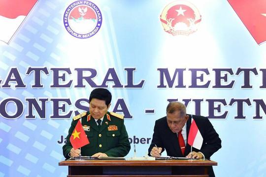 Việt Nam và Indonesia ký Tuyên bố Tầm nhìn chung về hợp tác quốc phòng - Ảnh 5.