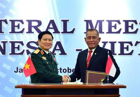 Việt Nam và Indonesia ký Tuyên bố Tầm nhìn chung về hợp tác quốc phòng - Ảnh 6.