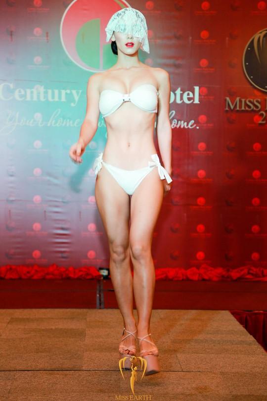 Thí sinh Hoa hậu Trái đất khoe hình thể với bikini - Ảnh 9.
