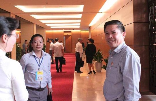 Giới thiệu ông Lê Minh Khái, Nguyễn Văn Thể làm Tổng TTCP và Bộ trưởng GTVT - Ảnh 3.