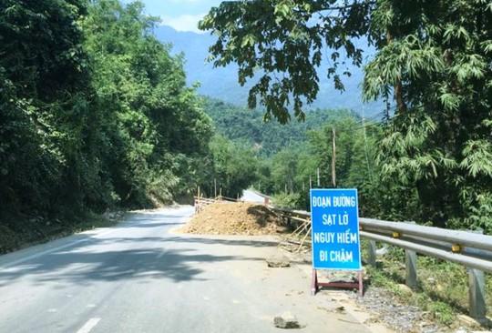 Quốc lộ gần 100 triệu đô ở Thanh Hóa sụt lún kinh hoàng - Ảnh 10.