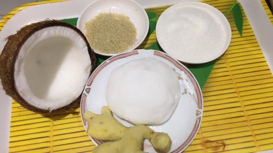 Ấm lòng với chè bột lọc bọc dừa - Ảnh 1.