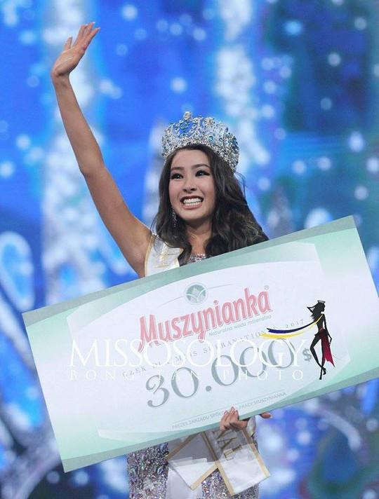 Tranh cãi nhan sắc của Tân Hoa hậu Siêu quốc gia 2017 - Ảnh 3.