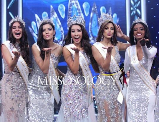 Tranh cãi nhan sắc của Tân Hoa hậu Siêu quốc gia 2017 - Ảnh 2.