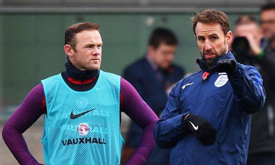 HLV Southgate muốn Rooney nhường chỗ cho những tài năng trẻ của Anh