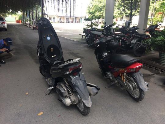 Nam sinh tham gia cướp xe ôm GrabBike táo tợn ở quận 2 - Ảnh 3.