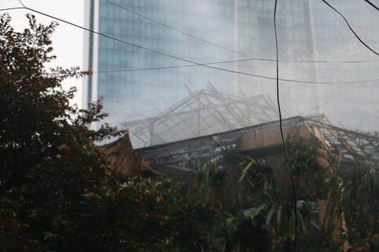 Cháy lớn quán cà phê tại quận Ba Đình - Ảnh 7.