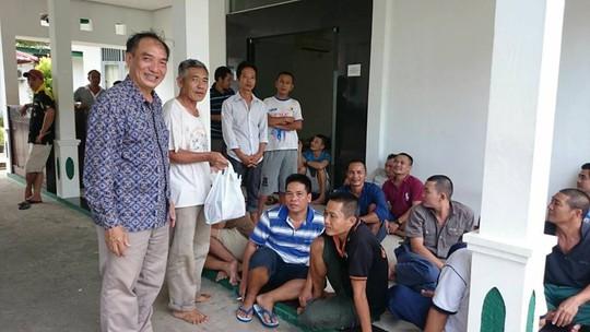 5 thuyền trưởng ở Indonesia cam kết ngừng tuyệt thực - Ảnh 2.